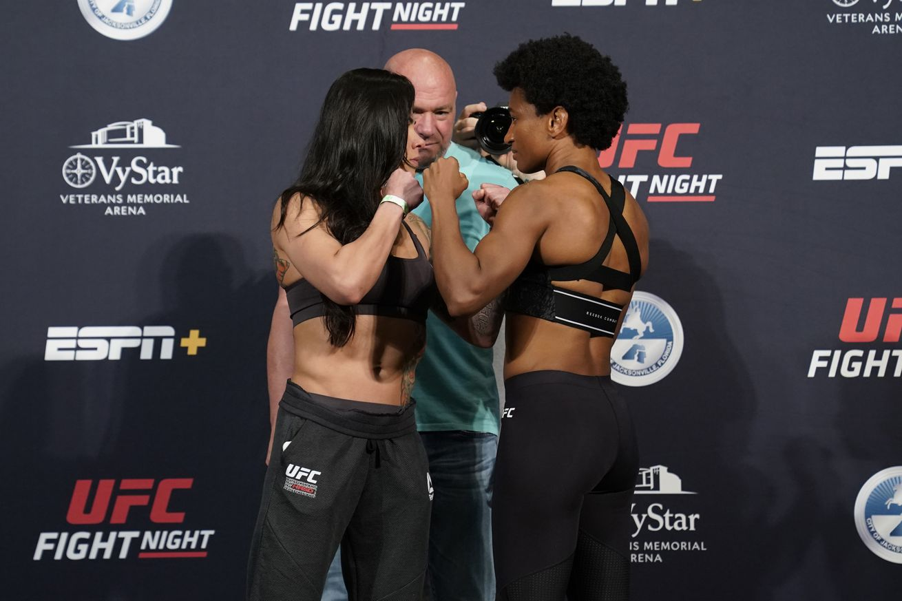 UFC Fight Night Overeem v Harris: Weigh-Ins