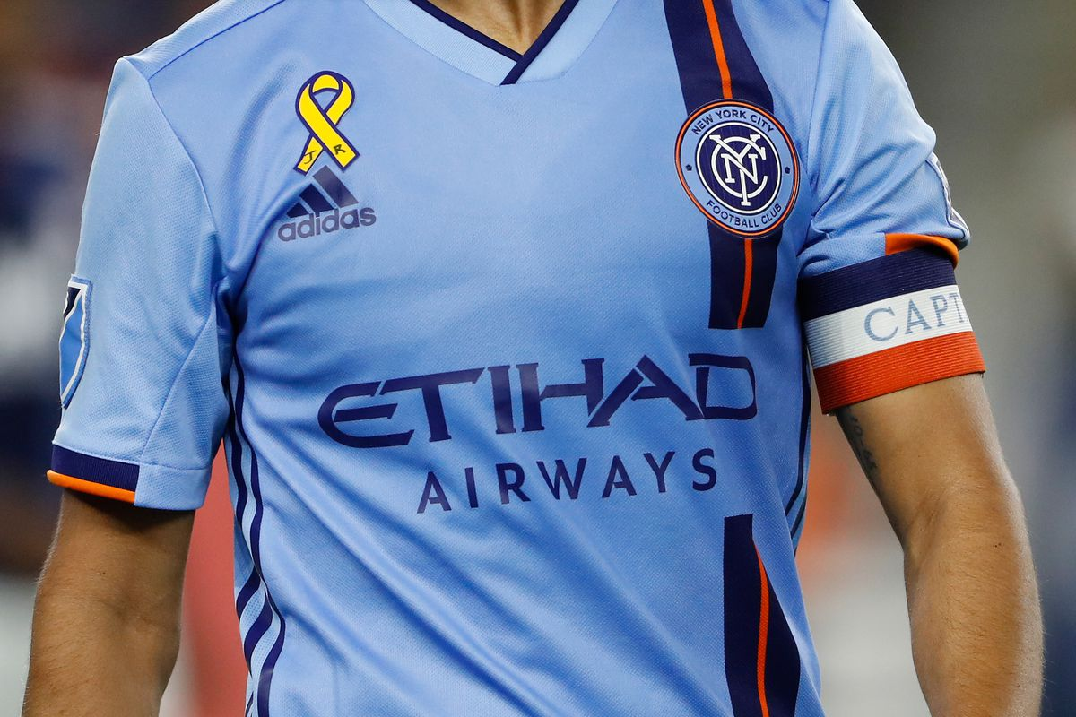 NYCFC might not have Etihad as kit sponsor in near future