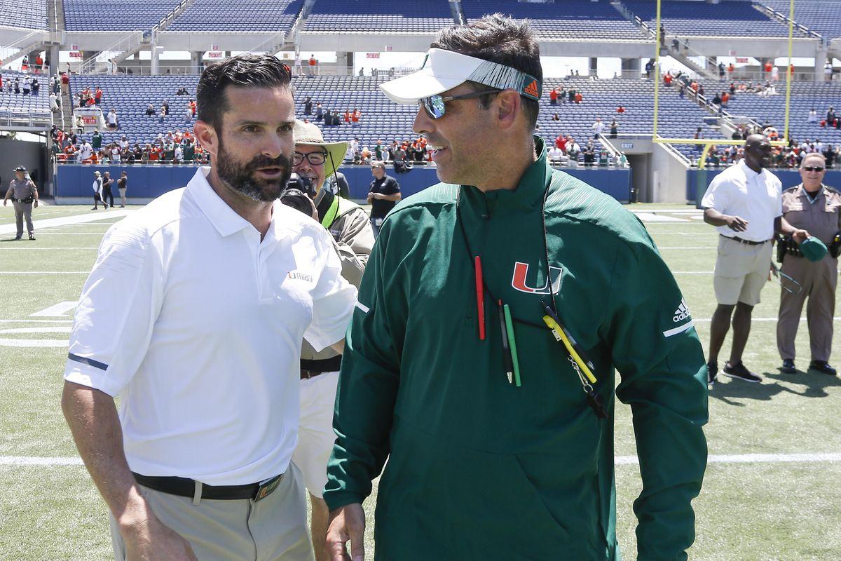 NCAA Football: Miami Spring Game