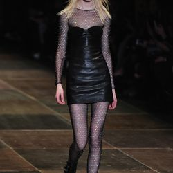 A look from Saint Laurent's fall 2013 show.