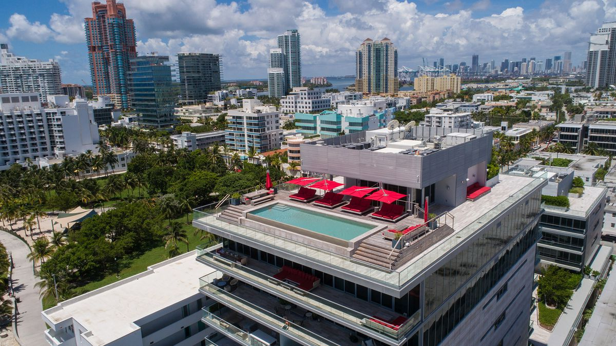 Miami Beach Penthouse At 321 Ocean Resurfaces For 35m