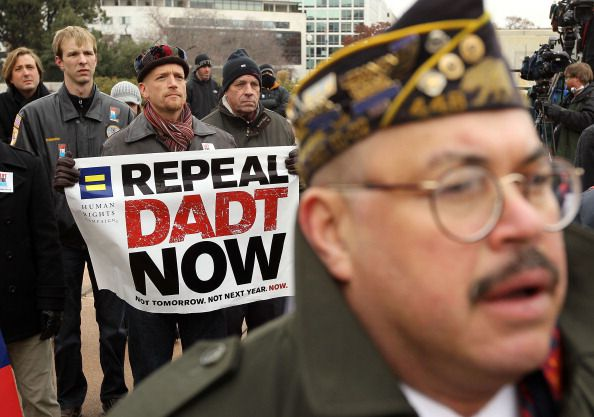 DADT repeal protest
