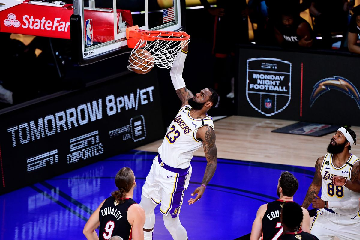 Lakers vs. Heat Final Score: LeBron wins Finals MVP as L.A. wins title - Silver Screen and Roll