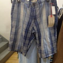 Current/ Elliot plaid men's shorts, $20