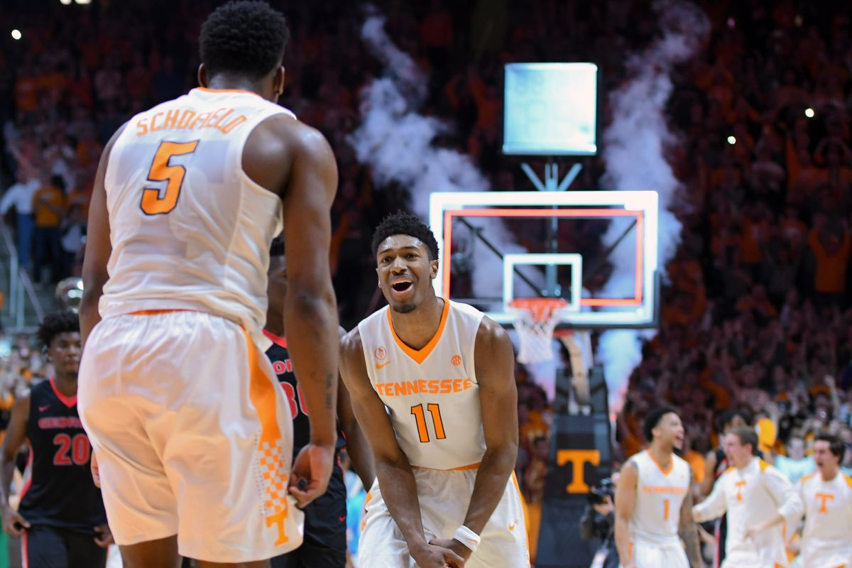 official photos 79c18 91d09 Tennessee Vols Basketball 2018-19 schedule announced - Rocky ...