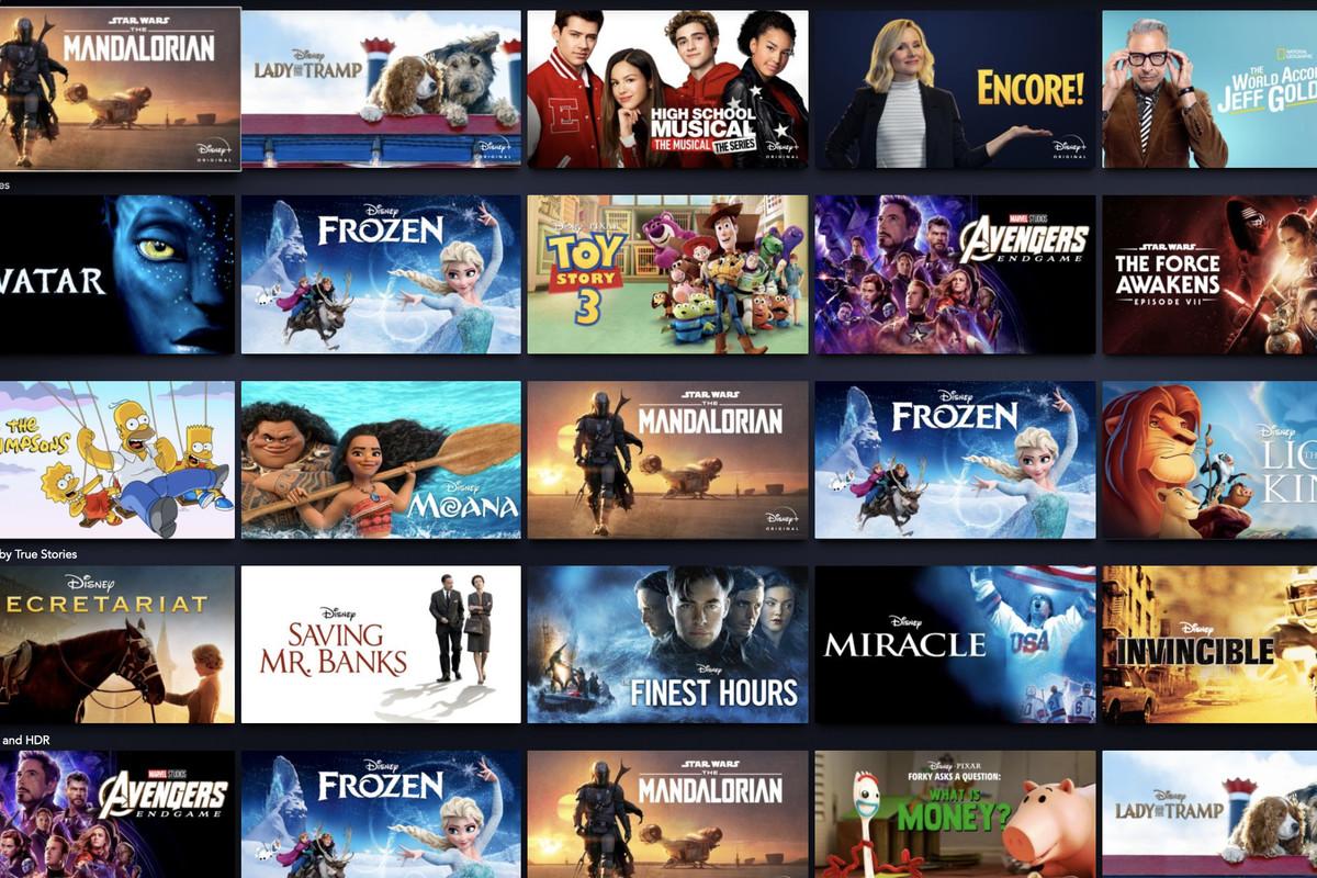 Filme Disney Plus