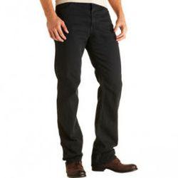 """<a href=""""http://www.barneys.com/Camden/500949011,default,pd.html"""" rel=""""nofollow"""">Camden Jeans</a> in Tar, $119 (was $245), Raleigh Denim."""