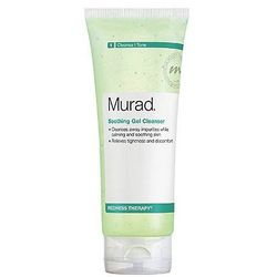 """<b>Murad</b> Soothing Gel Cleanser is a great option for sensitive types prone to redness, with calming ingredients that include peppermint leaf and goji berry. <a href=""""http://www.sephora.com/soothing-gel-cleanser-P72000?skuId=775361"""">$27</a> at Sephora"""