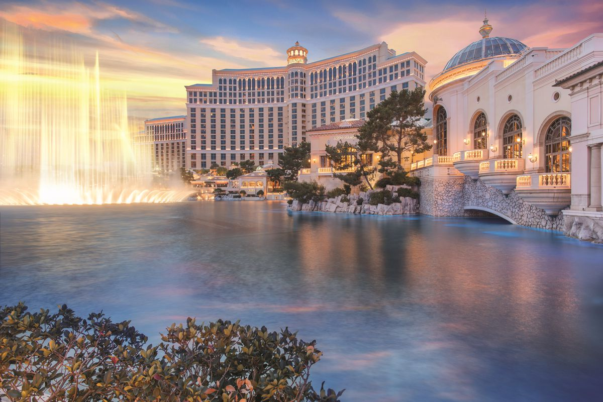 A view of the Bellagio