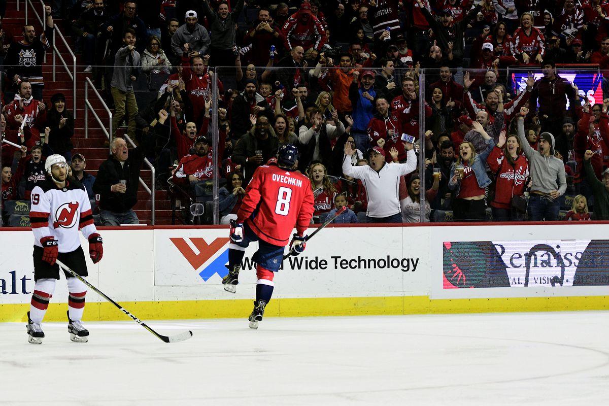 6fa017294de Friday Caps Clips  Capitals vs. Devils Game Day - Japers  Rink