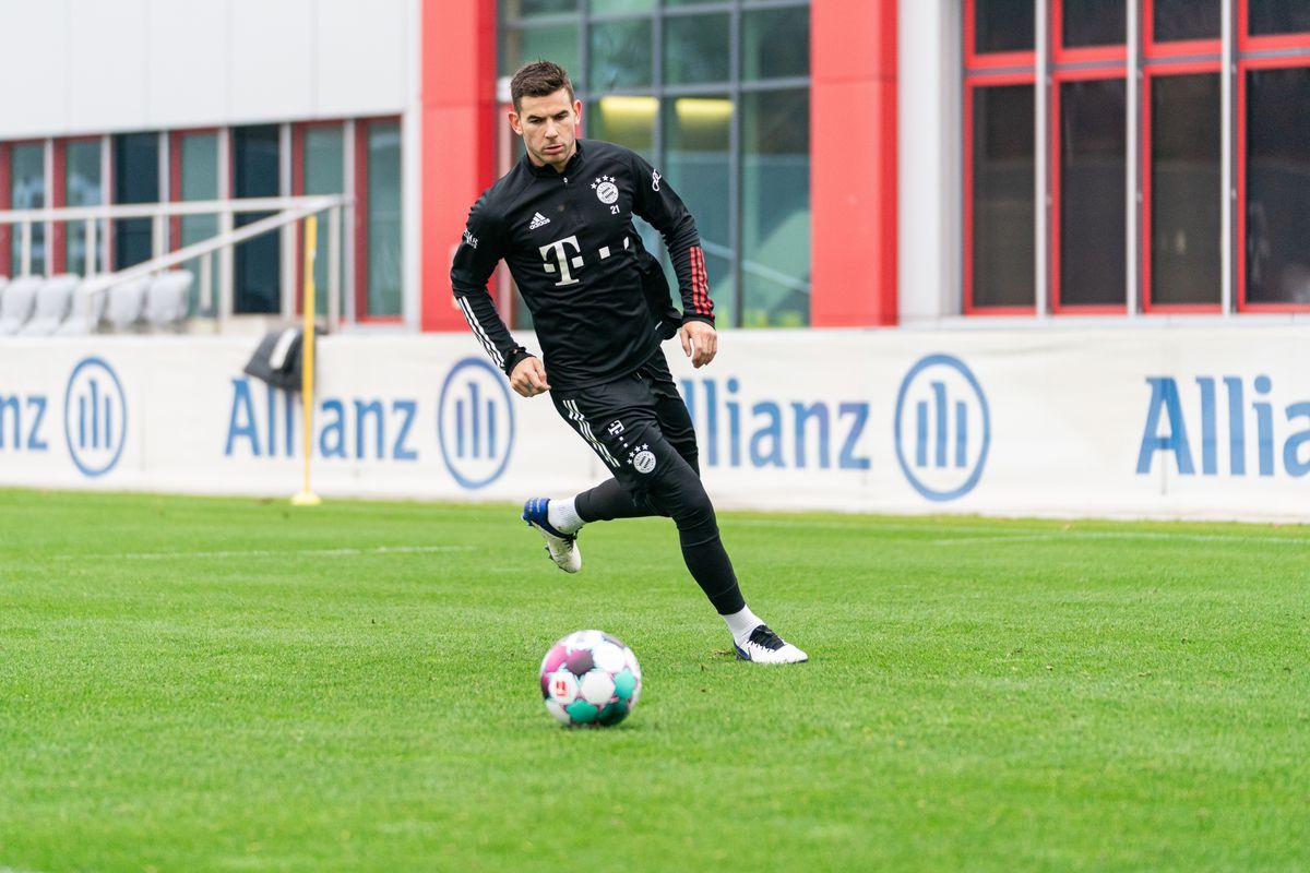Sesión de entrenamiento del FC Bayern München