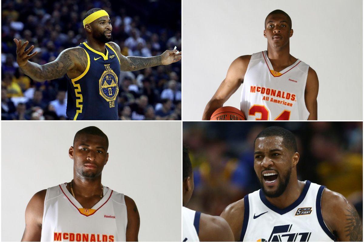 super popular 037f5 524ae NBA Draft classmates DeMarcus Cousins, Derrick Favors proud ...