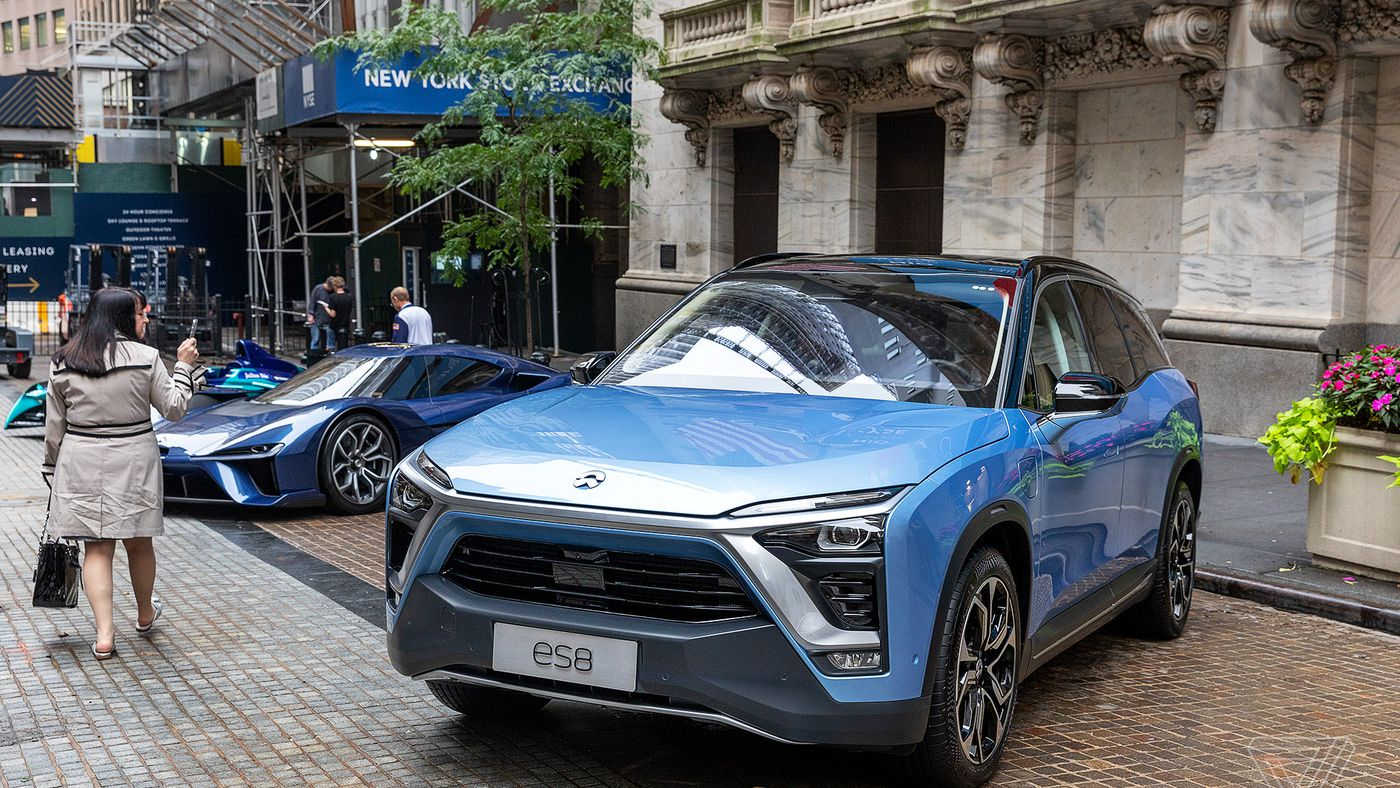 EV startup NIO abandons plan to make its own cars - The Verge