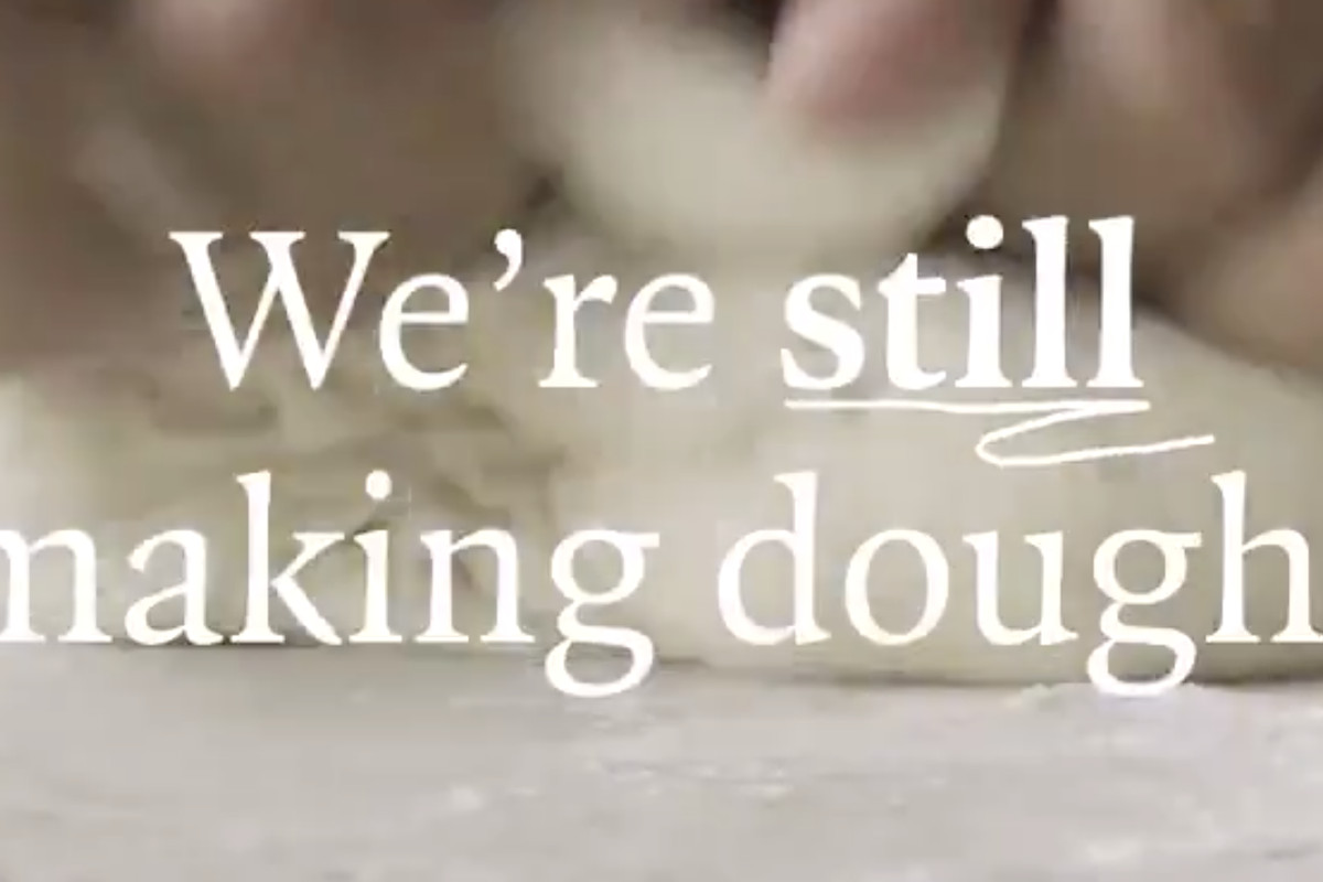 Pizza Express's announcement video saying the pizza chain won't fold