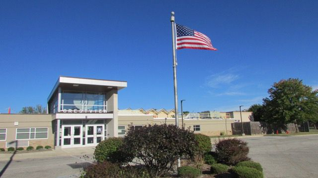 Despite a slip on ISTEP in 2014 and a low passing rate, the school's grade was a B.