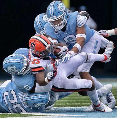 NCAA Football: Syracuse at North Carolina