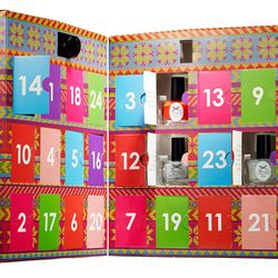 """<b>Ciate</b> delivers an advent calendar of 24 mini polishes (including seven textured manicure toppers), <a href=""""http://www.sephora.com/mini-mani-month-P383154"""">$58</a>. Available at Sephora in the Prudential Center, Cambridgeside Galleria, the Mall at"""