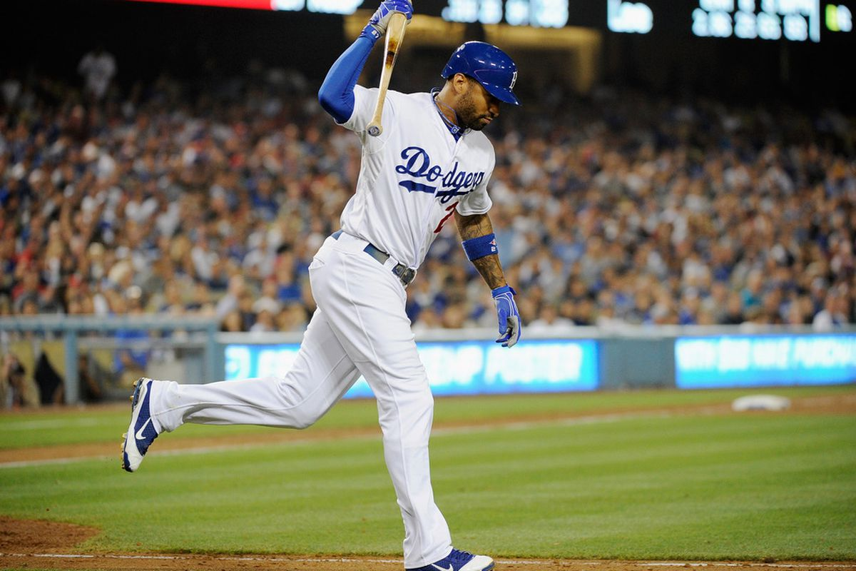 Matt Kemp and the Dodgers have lost the first two games to the Phillies.