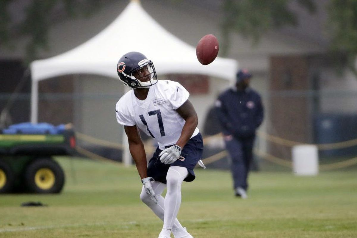 best website d18f7 b8e01 Bears preseason: Rookie Anthony Miller a trusted target for ...