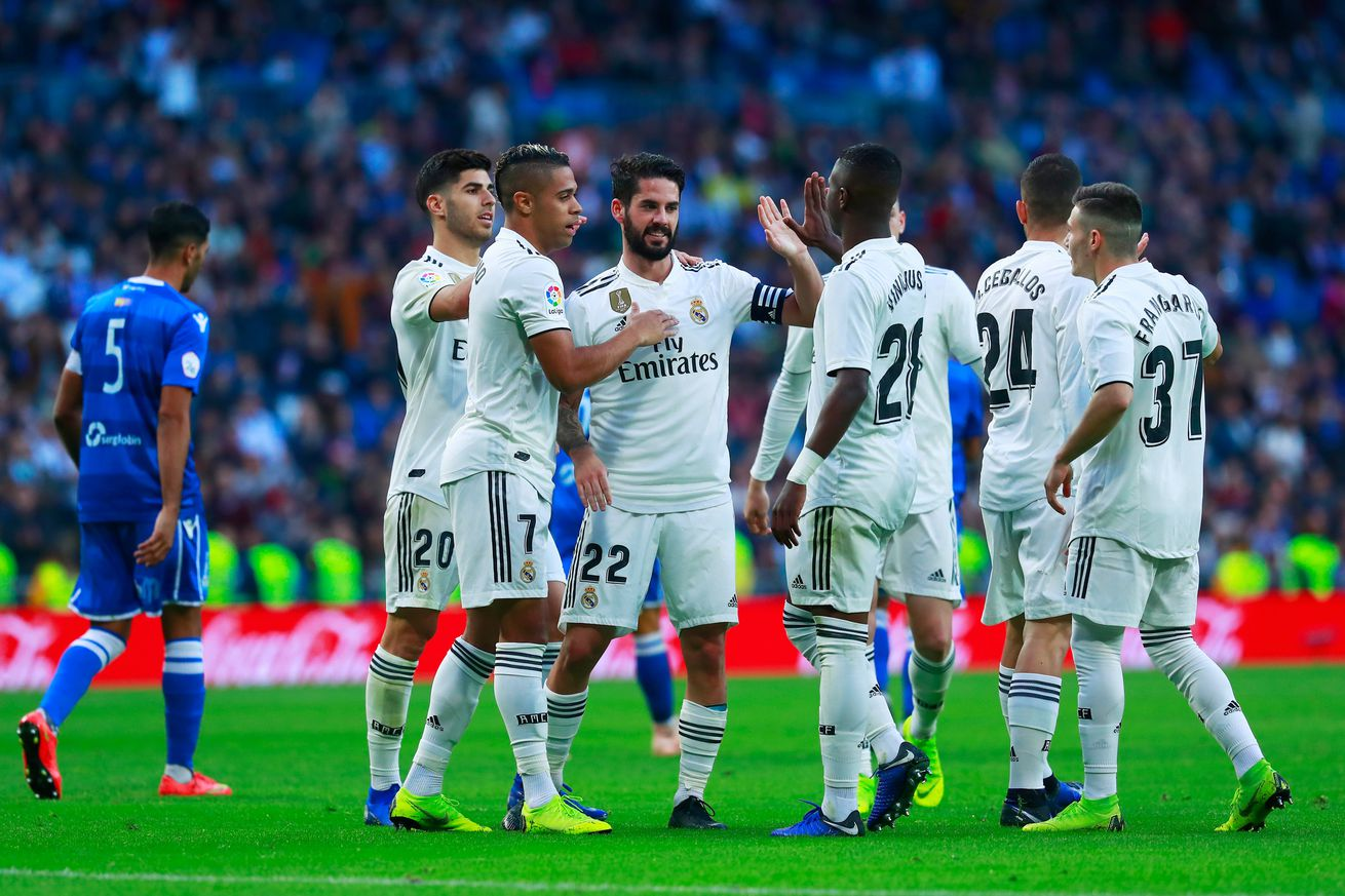 CONFIRMED lineups: Real Madrid vs CSKA Moscow, 2018 Champions League