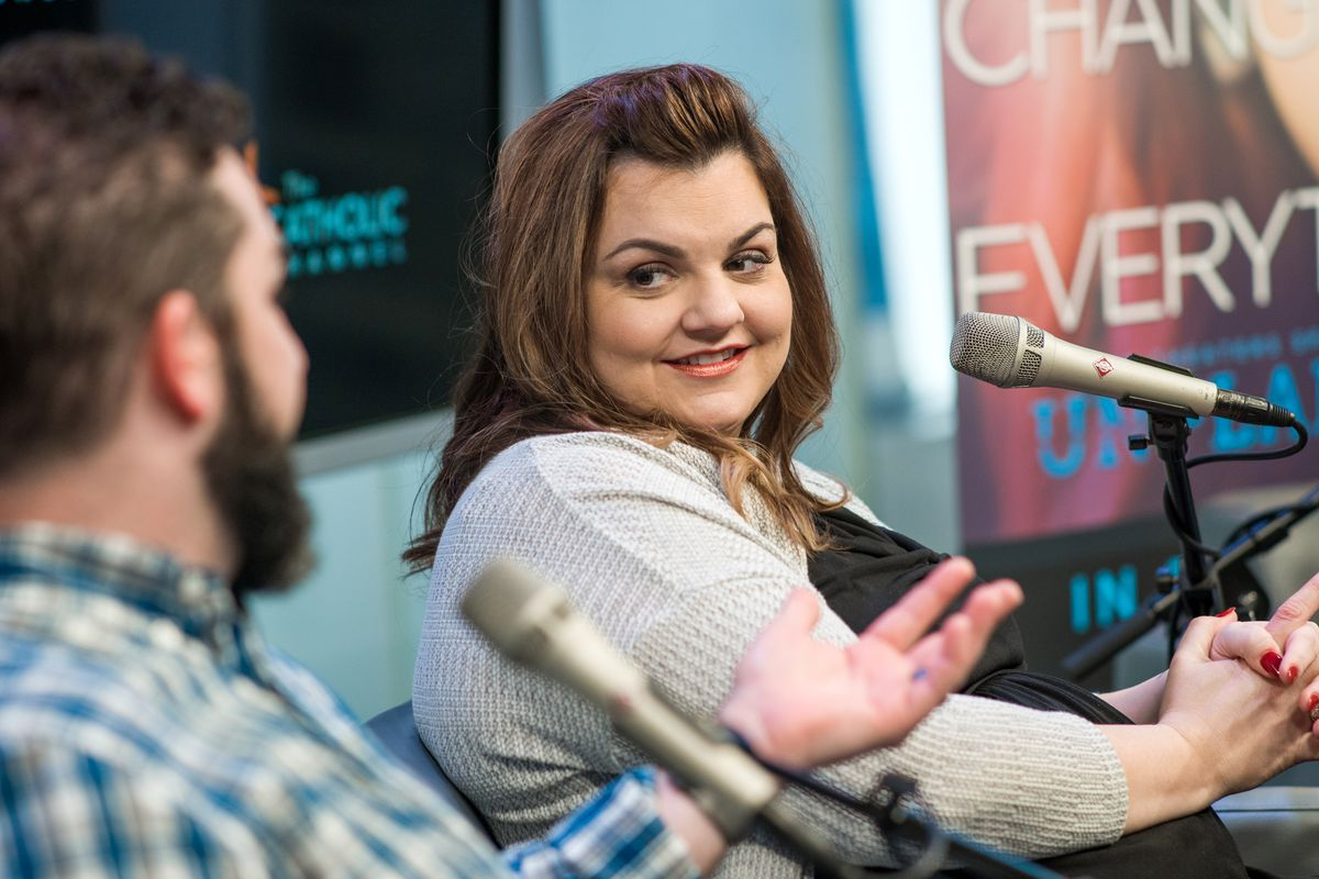 6f756b454f984 Abby Johnson visits SiriusXM Studios in New York City on March 19, 2019.  Getty Images
