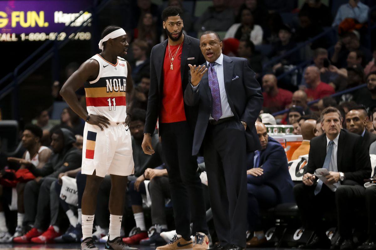 04f66b4b1 2019 NBA Trade Deadline  New Orleans Pelicans have no pressure to move Anthony  Davis before the deadline