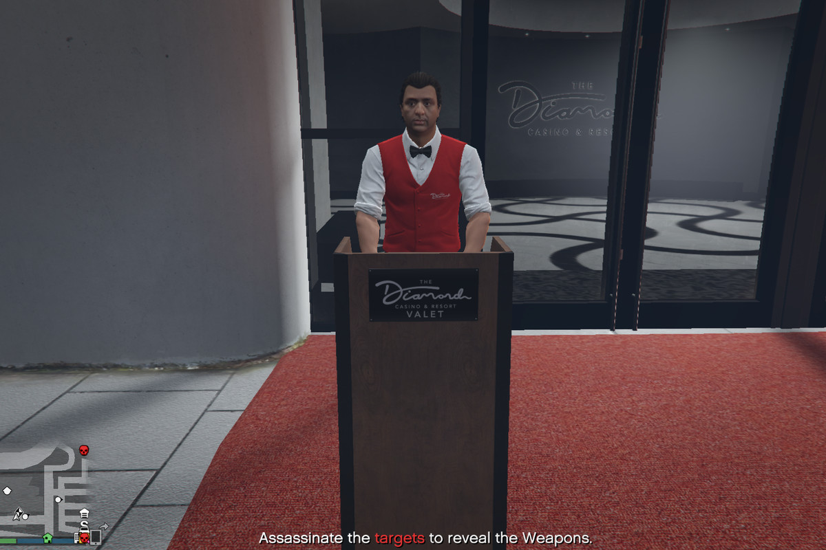 GTA Online players won't stop killing the casino valet - Polygon
