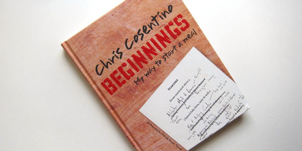 First Look: Chris Cosentino's New Cookbook Beginnings - Eater