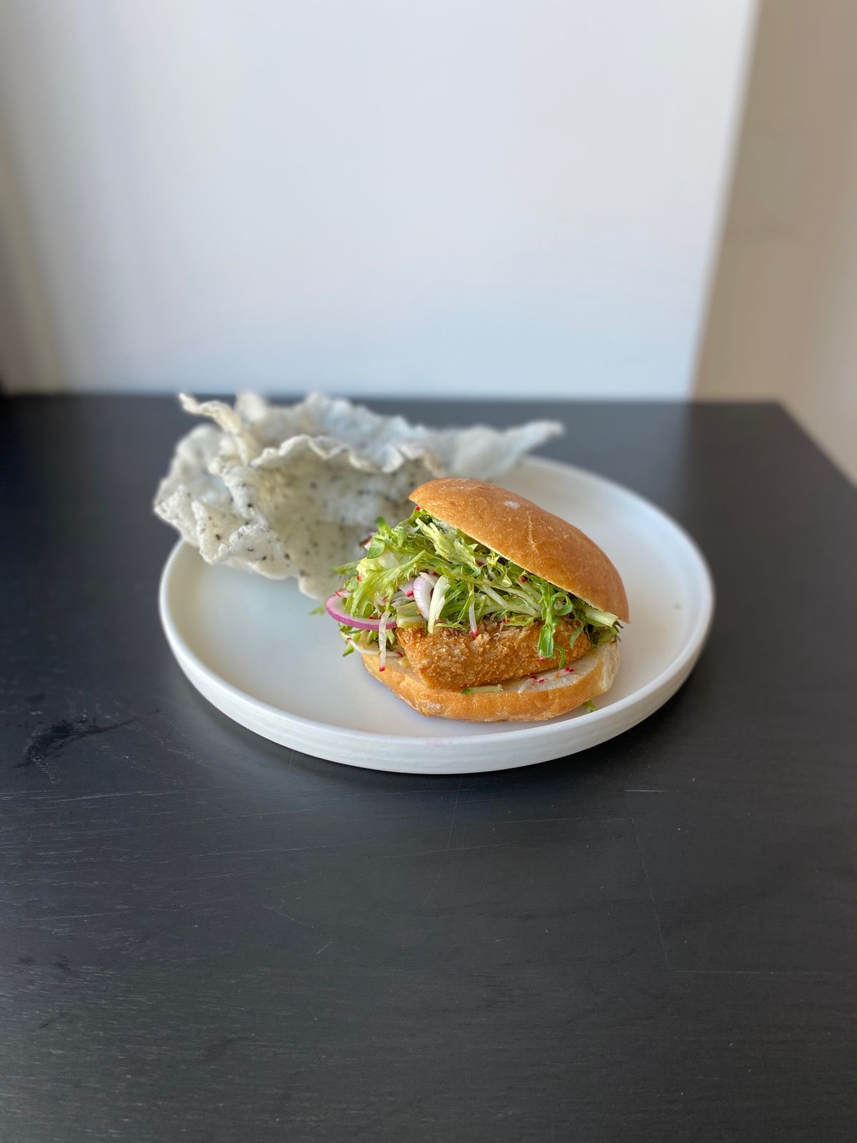 """The """"Masabaga,"""" or tuna belly burger, is the restaurant's signature item"""