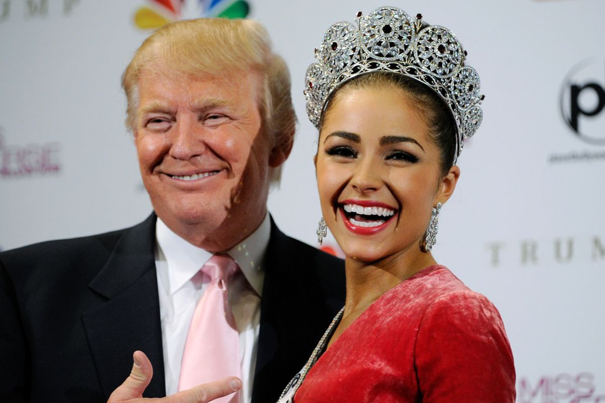 The Donald and the Missus, via Getty