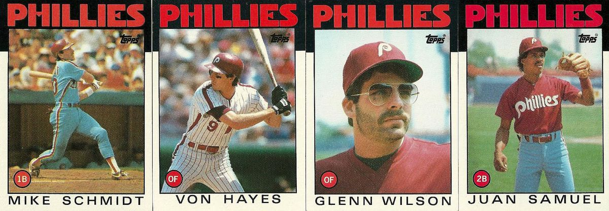 Ranking The Designs Of Topps 1980s Baseball Cards The Good Phight