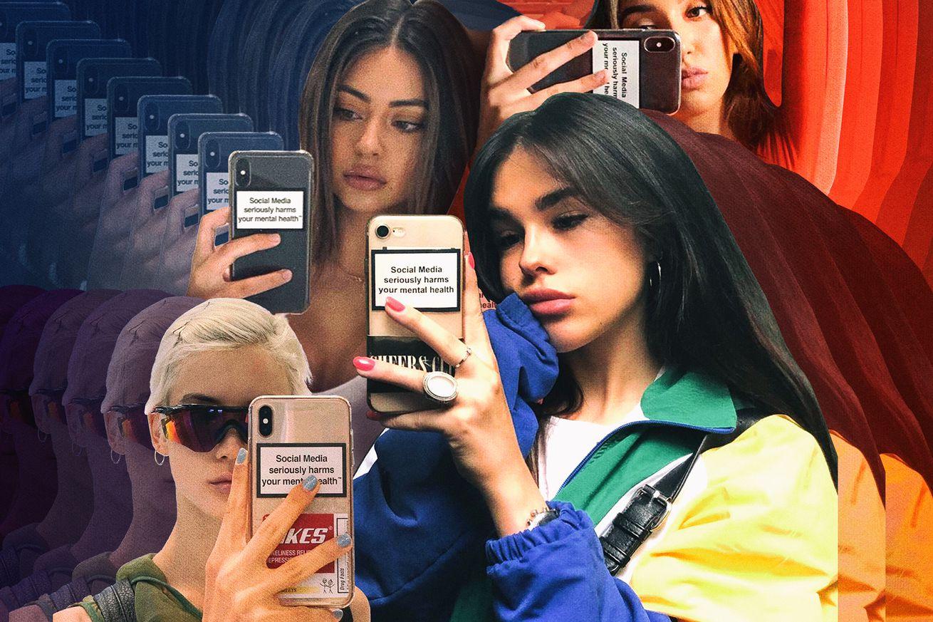 Models like Gigi Hadid are sending a mental health message through their phone cases