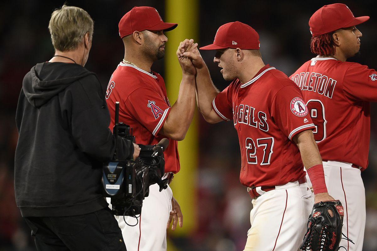 MLB: San Francisco Giants at Los Angeles Angels