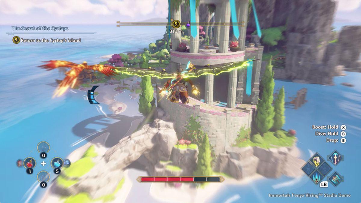 Immortals Fenyx Rising The Secret of the Cyclops walkthrough