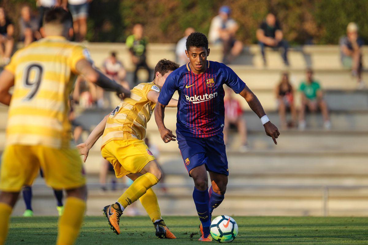 Anthony Lozano tại FC Barcelona