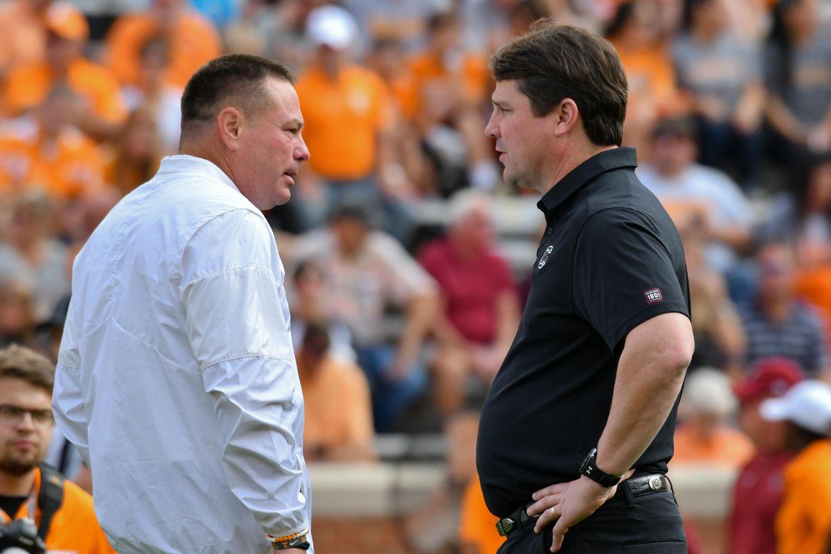 NCAA Football: South Carolina at Tennessee