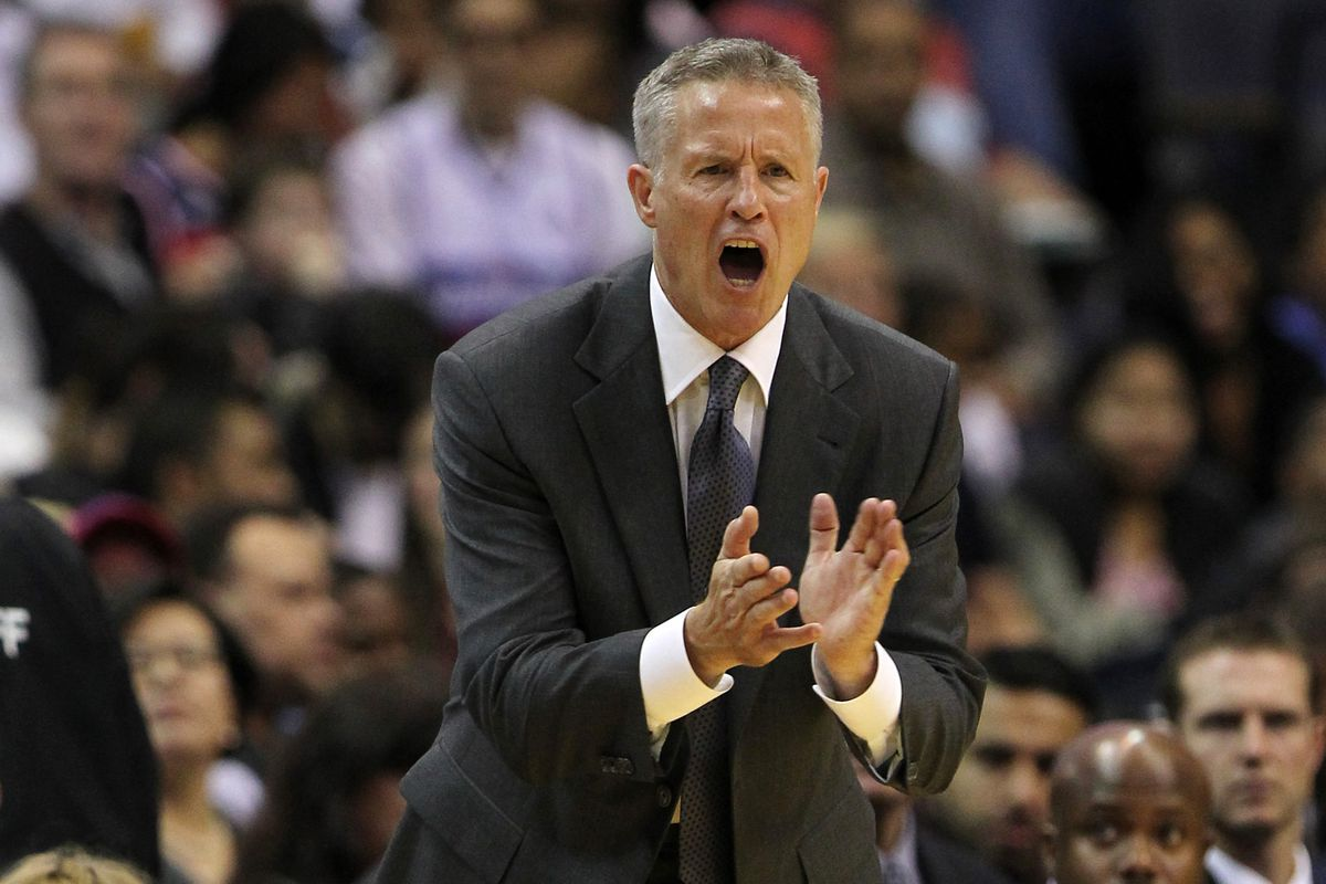 Brett Brown is happy with the season's strong start.