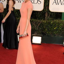 Emma Stone at the Golden Globe Awards in 2011.