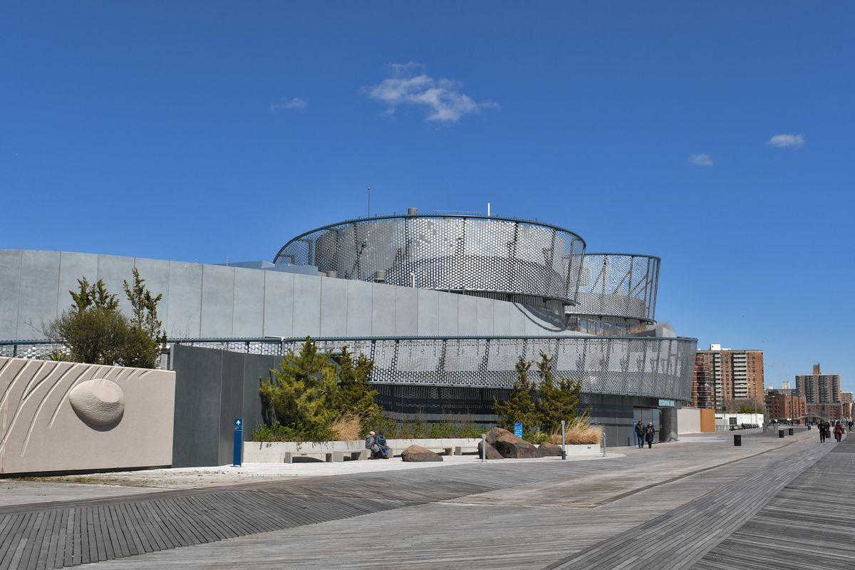 New York Aquarium Opens Its Ocean Inspired Shark Pavilion At Coney