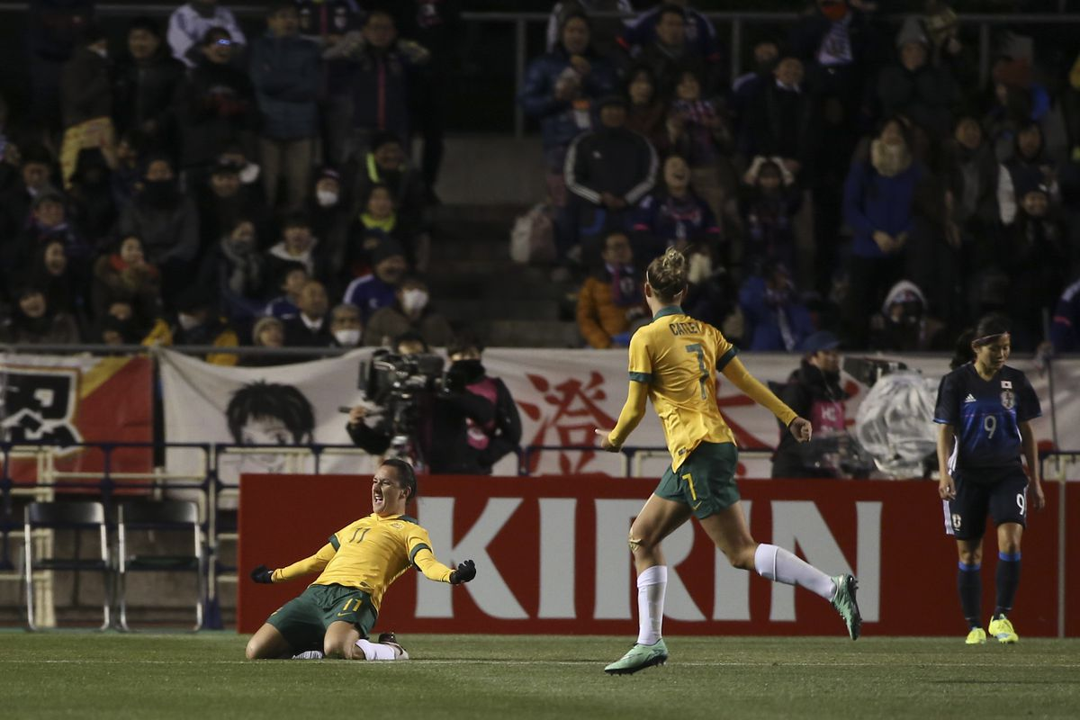 Australia v Japan - AFC Women's Olympic Final Qualification Round