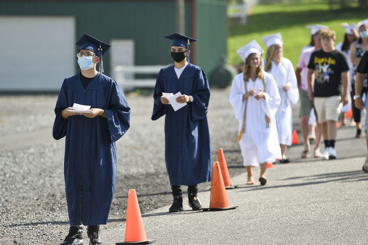 High School Graduation Modified To Prevent The Spread Of Coronavirus COVID-19