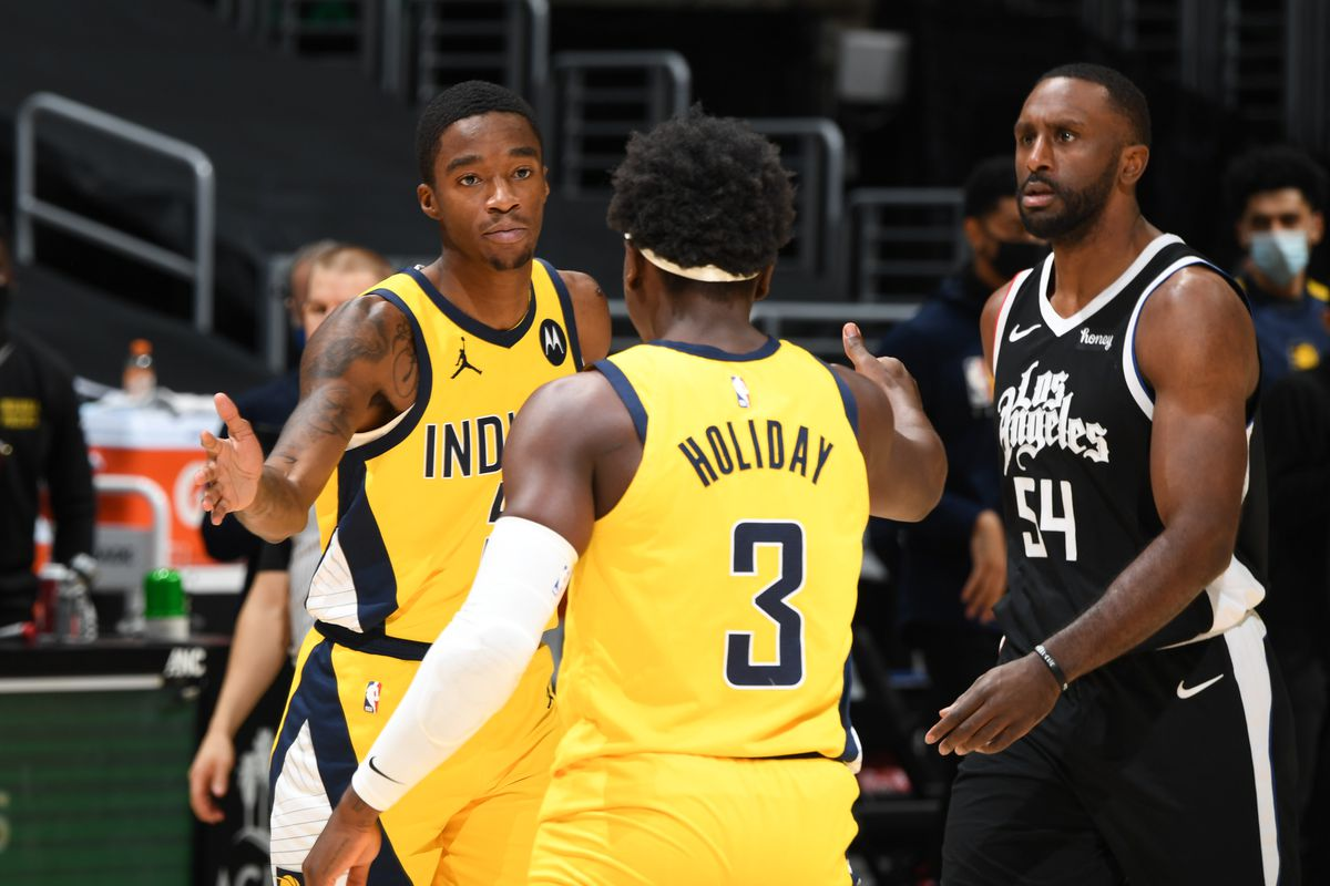 Indiana Pacers v LA Clippers