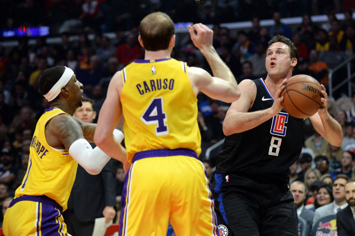 afcab236618d Lakers Stun Clippers 122-117 Behind Alex Caruso s 32 Points - Clips ...