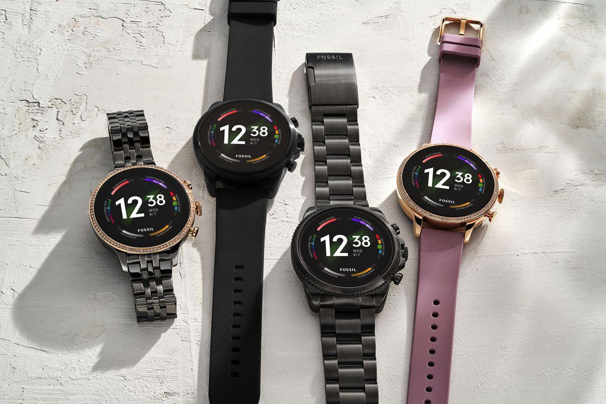 Fossil Gen 6 watches