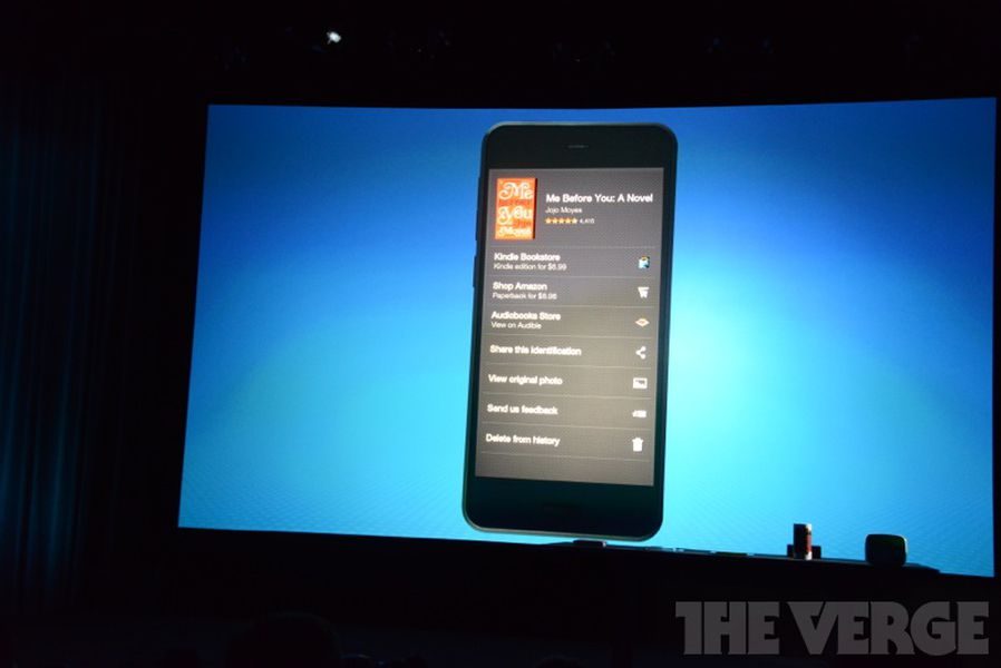 Amazon's Fire Phone recognizes everything around you with ...