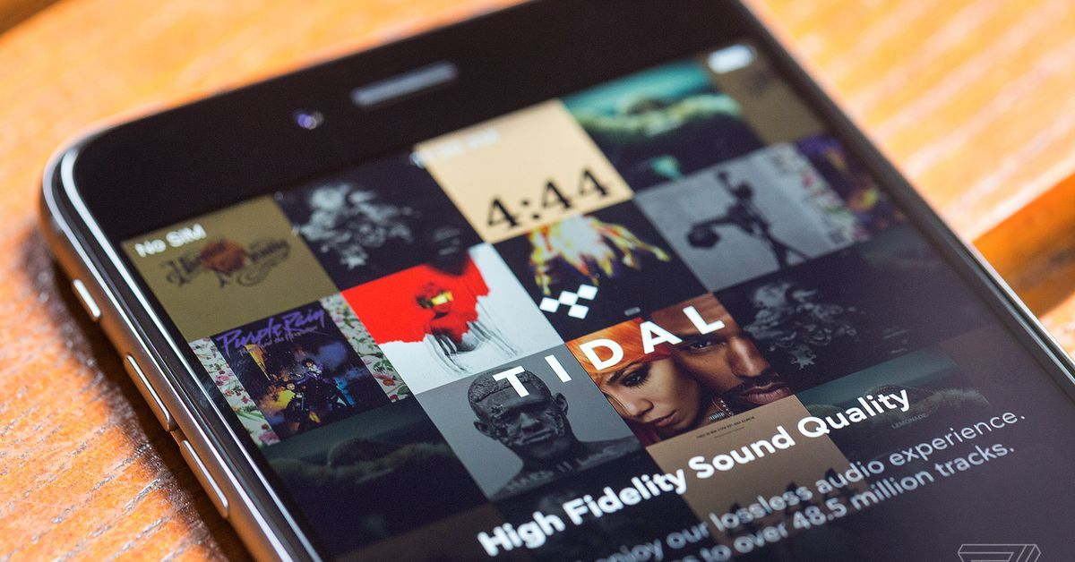photo image Tidal is reportedly months behind on royalty payments to labels