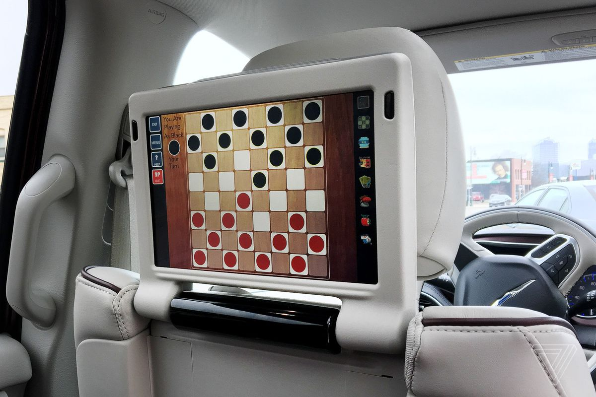Backseat Checkers Is The Best Part Of Chrysler Pacifica