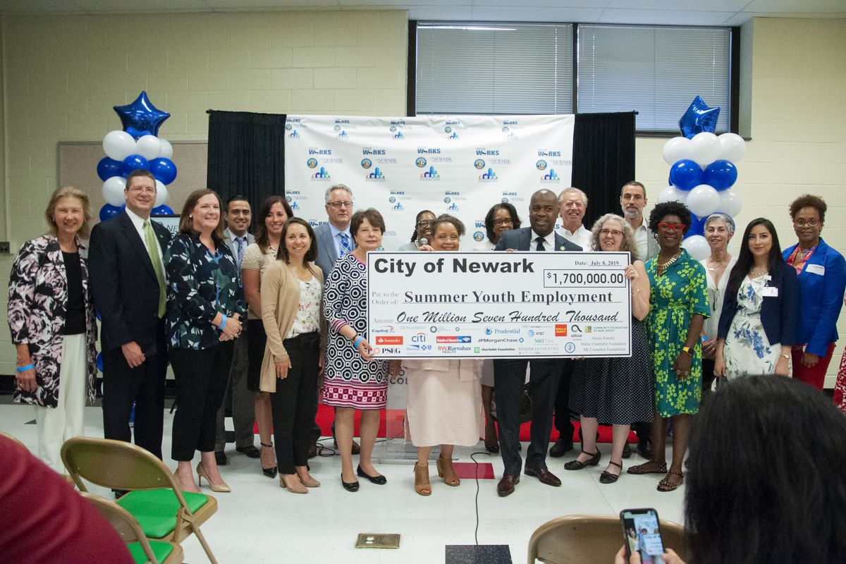 Through a public-private partnership, about $3 million in total was raised to support the city's summer youth employment program. Grant funds comprised $1.7 million of the amount.