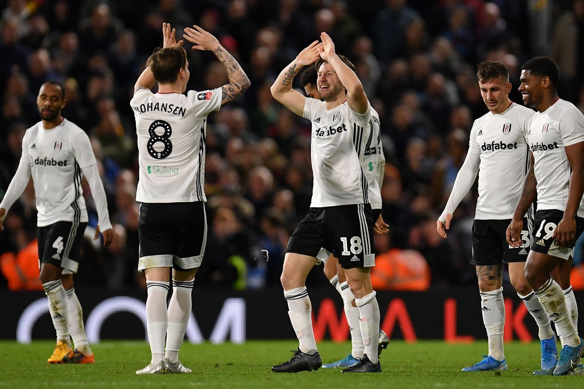 Fulham FC v Aston Villa - FA Cup Third Round