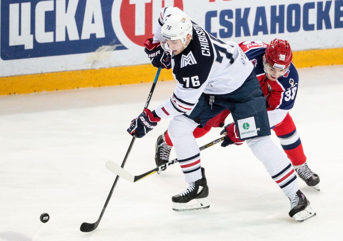 Kontinental Hockey League: CSKA Moscow vs Metallurg Magnitogorsk